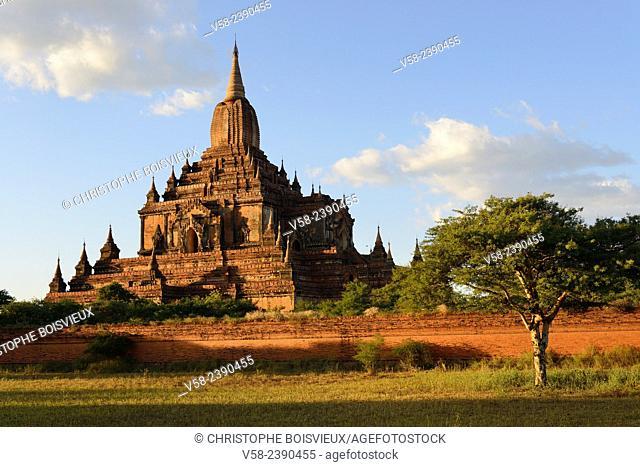 Myanmar, Bagan, Sulamani pagoda