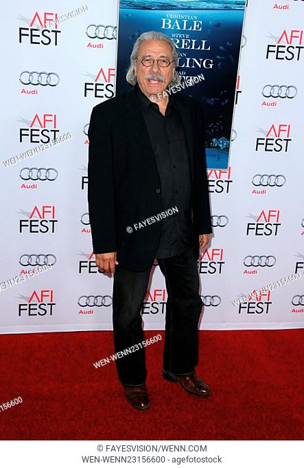 AFI FEST 2015 Presented By Audi Closing Night Gala Premiere of Paramount Pictures' 'The Big Short' - Arrivals Featuring: Edward James Olmos Where: Hollywood