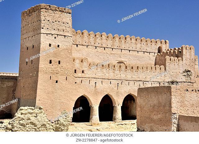 Old Fort in Jaalan Bani Bu Ali, Sultanate of Oman