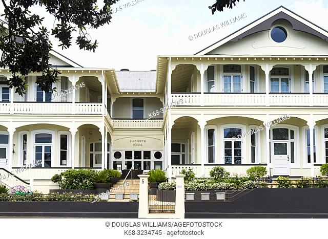 Buildings in Devonport, Auckland, New Zealand