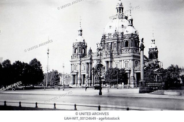 Der Berliner Dom auf der Museumsinsel., Sammlung Wittmann
