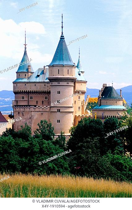 The romantic medieval castle Bojnice, Slovakia