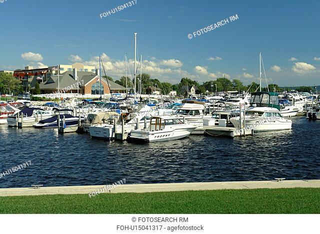 Ludington, MI, Michigan, Lake Michigan, waterfront, municipal marina