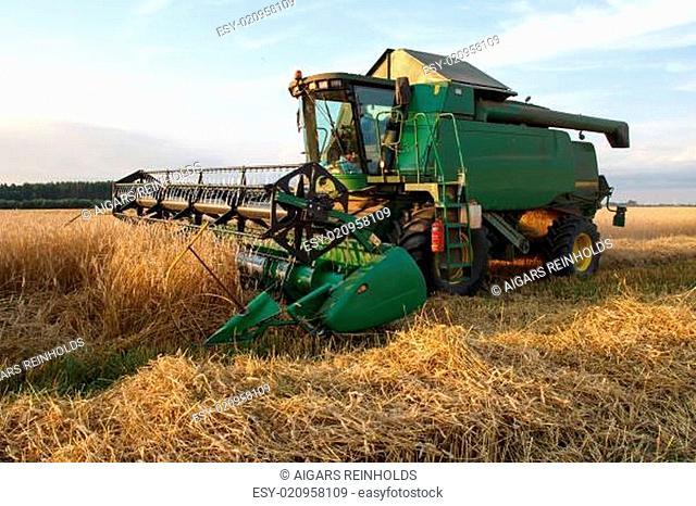 grain combine