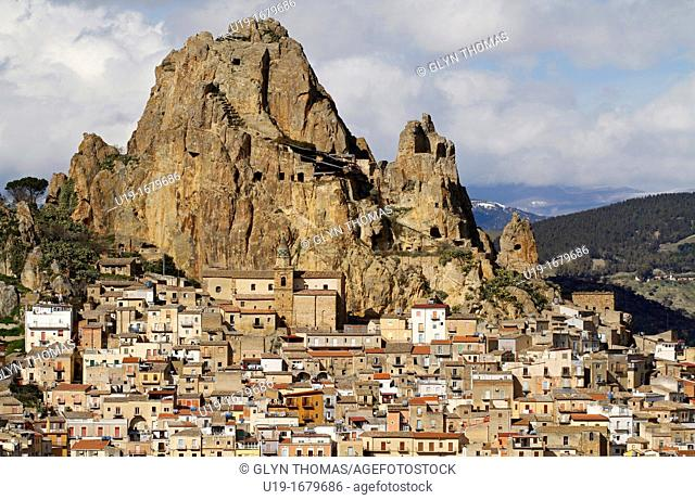 Gagliano Castelferrato in the province of Enna, Sicily, Italy