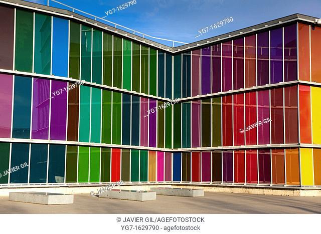 MUSAC museum, Leon, Castilla y Leon, Spain