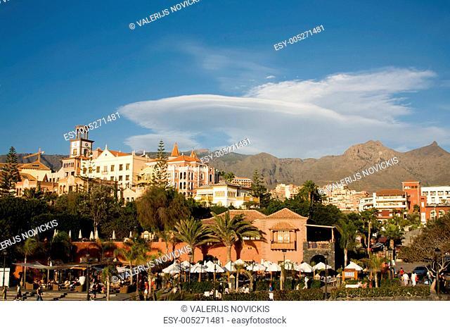Tenerife beach coast Las Americas