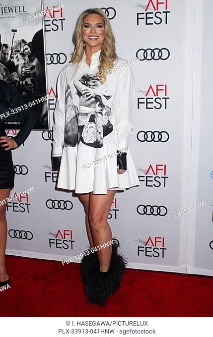 """Brandey Porter 11/20/2019 AFI Fest 2019 Gala Screening """"""""Richard Jewell"""""""" held at the TCL Chinese Theater in Los Angeles, CA. Photo by I"""