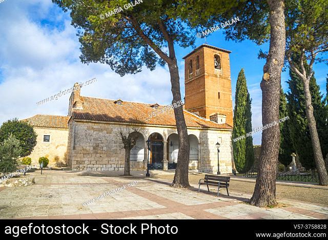 San Torcuato church. Santorcaz, Madrid province, Spain
