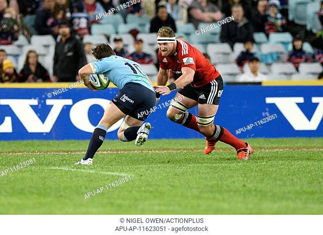 2015 Super Rugby NSW Waratahs v Crusaders May 23rd. 23.05.2015. Sydney, Australia. Super Rugby. NSW Waratahs versus the Crusaders