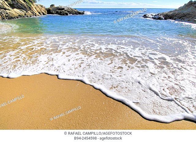 Costa Brava. Cap Roig coast. Girona. Catalonia. Spain