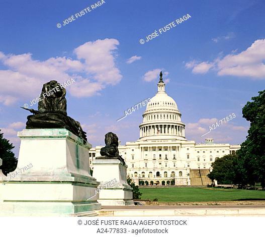 Capitol Building. Washington D.C. USA