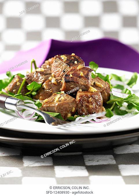 Beef on watercress (Vietnam)