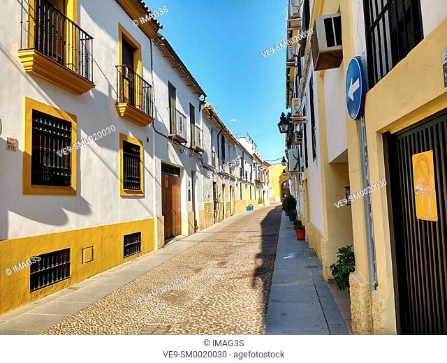 Enmedio Street, Córdoba, Andalusia, Spain
