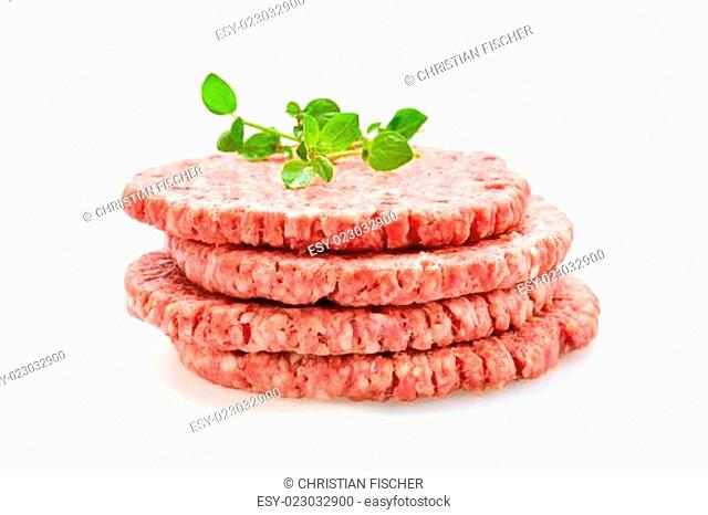 Frische Burger Patties