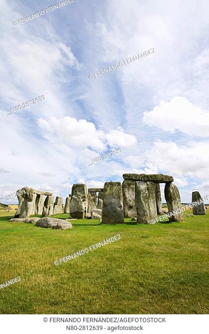 Stonehenge. Neolithic and Bronze Age monuments. Wiltshire. England
