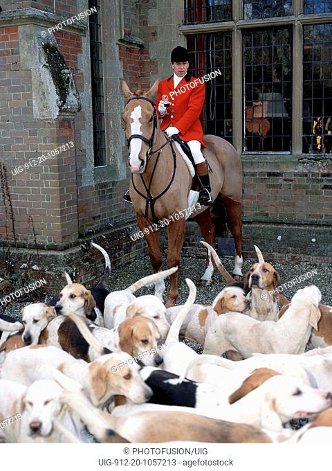 Tickham Hunt, Doddington Place, Sittingbourne, Kent UK March 2002