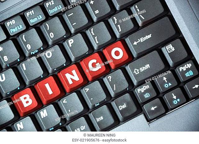 Bingo key on keyboard