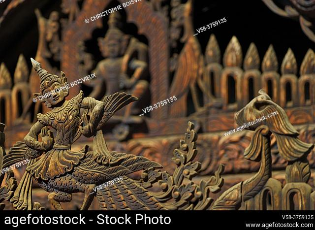 Myanmar, Bagan, Nat Taung kyaung monastery