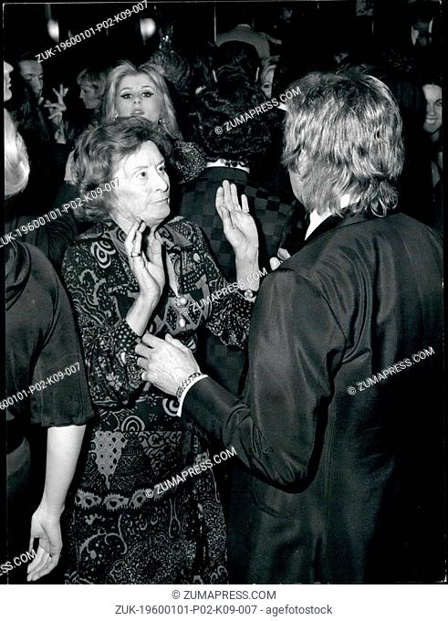 Dec. 14, 1965 - Countess Edda Ciano, daughter of the late Duce of the Fascism, and widow of the executed ex-Foreign Minister Galeasso Ciano during the Fascist...