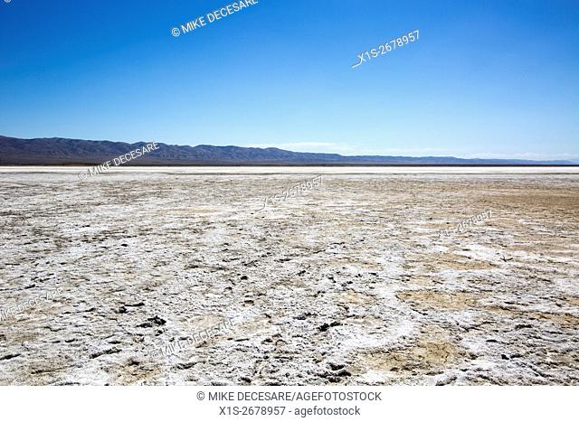 Soda Lake on the Carrizo Plain is a salt encrusted, alkali lake bed in Central California