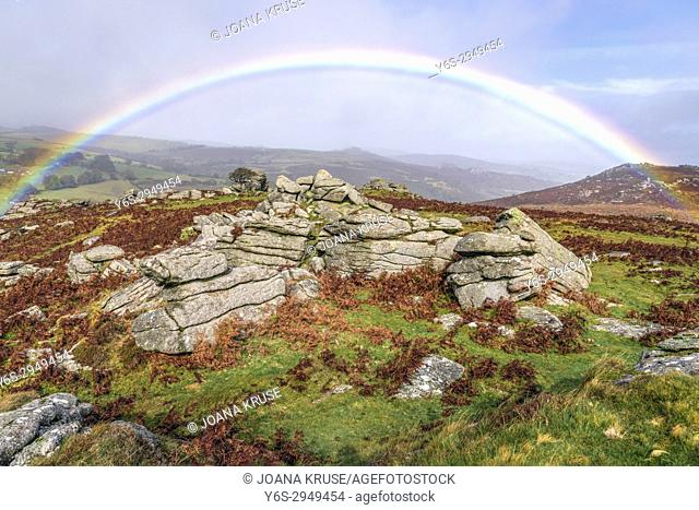 Holwell Tor, Dartmoor, Devon, England, United Kingdom