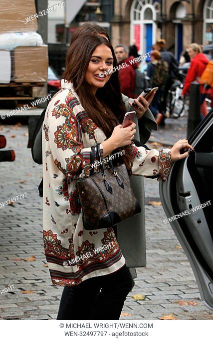 Scarlett Moffatt spotted leaving Global productions studios Featuring: Scarlett Moffatt Where: London, United Kingdom When: 22 Oct 2017 Credit: Michael...