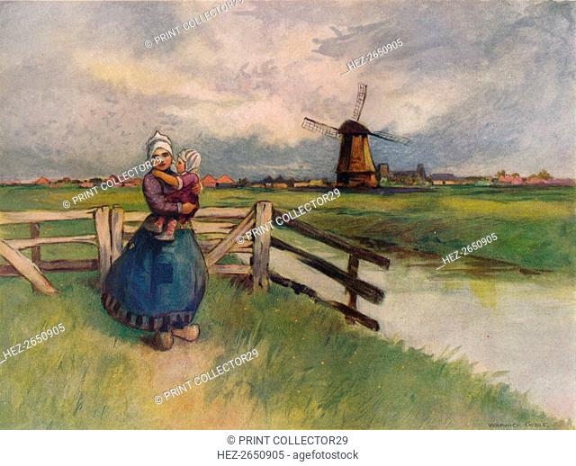'View in Holland', 1907. Artist: Flame Engraving Co