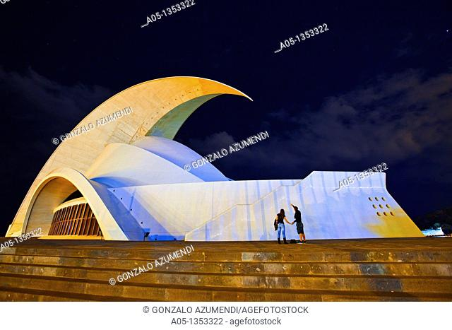Opera House  Santa Cruz de Tenerife  Tenerife  Canary Islands  Spain
