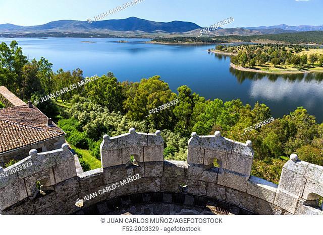 Gabriel y Galan dam, Granadilla, Ambroz Valley, Cáceres, Extremadura, Spain, Europe