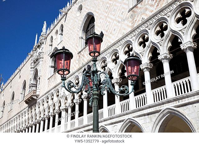 Doge's Palace, St Marks Square, Venice, Italy