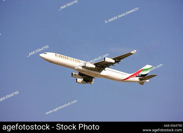 Emirates in Dubai. Photo: André Maslennikov