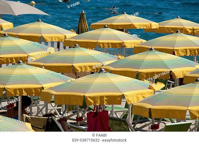 Cabana Beach Umbrella Stock Photos And