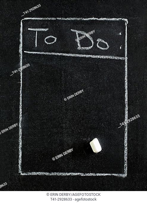To Do Chalkboard
