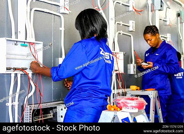 Johannesburg, South Africa - May 8 2012: Vocational Skills Training Centre in Africa