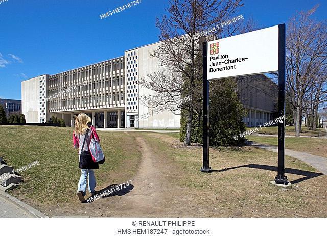 Canada, Quebec Province, Quebec City, Sainte Foy district, Laval University