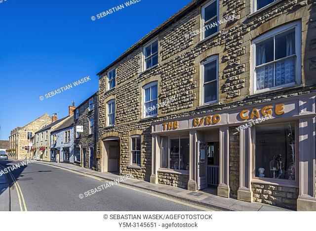 High Street at Malmesbury, Wiltshire, England, United Kingdom, Europe