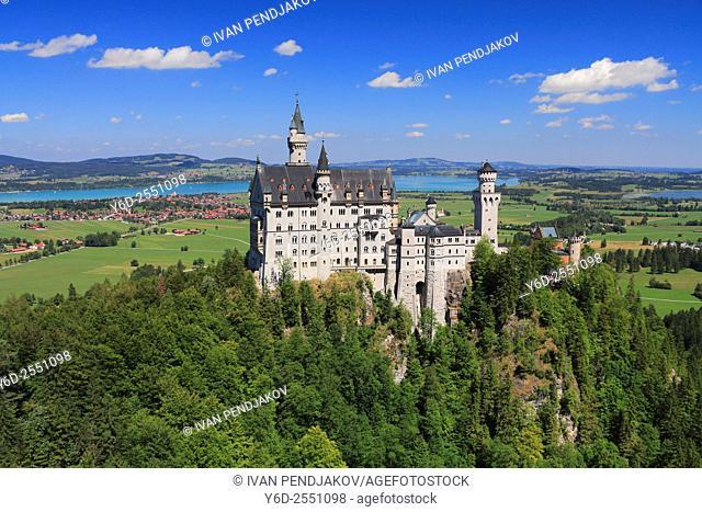 Neuschwanstein Castle, Bavaria, Germany