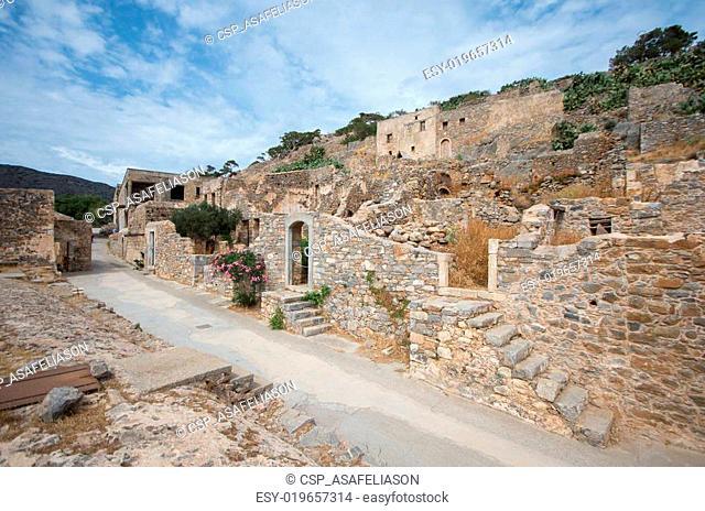 Spinalonga Fortress, Crete - Greece