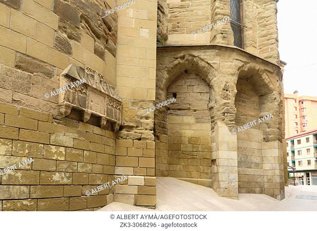Church of St. Llorenç. Lleida, Catalonia, Spain