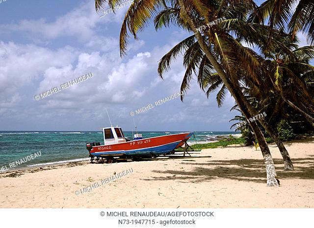 France, West Indies, Guadeloupe, Ile de la Désirade