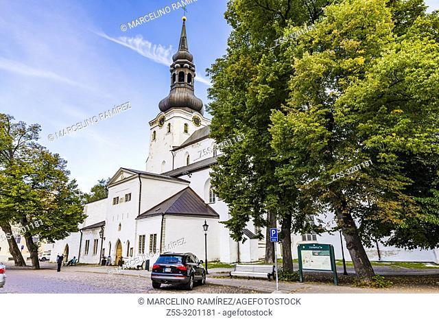 St. Mary's Cathedral, Tallinn, Harju County, Estonia, Baltic states, Europe
