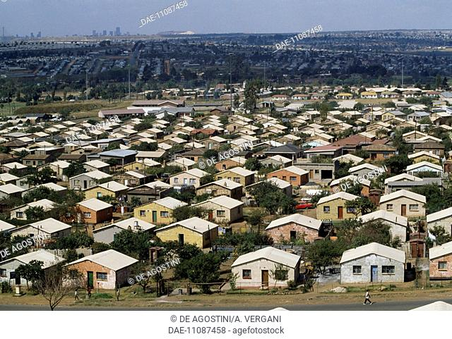 Houses in Soweto, Johannesburg, South Africa