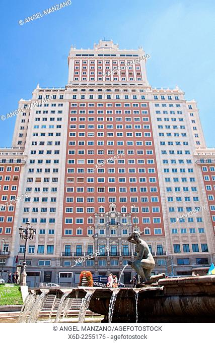 Edificio España - Spain building skyscraper, Plaza de España
