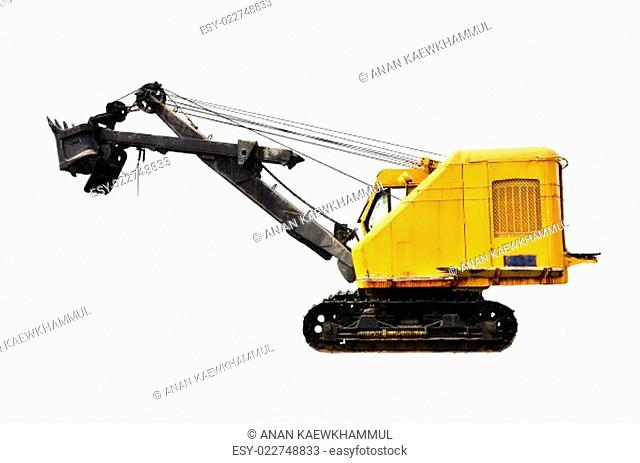 coal mine excavator vechicle