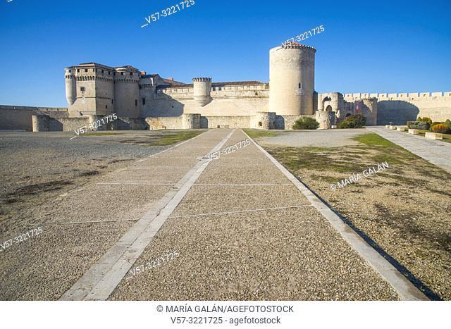 Medieval castle. Cuellar, Segovia province, Castilla Leon, Spain