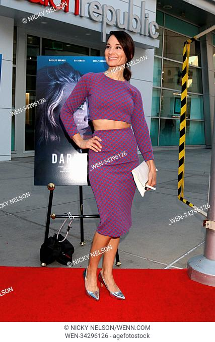 'In Darkness' premiere at ArcLight Hollywood - Arrivals Featuring: Alison Becker Where: Los Angeles, California, United States When: 23 May 2018 Credit: Nicky...