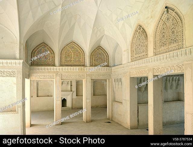 Iran, Kashan, Abbassian House (19th C)