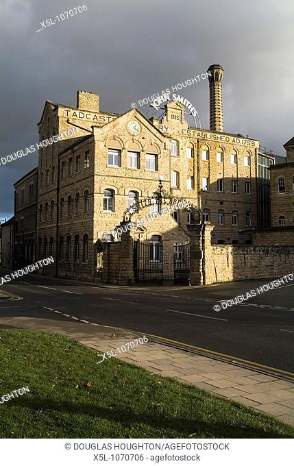 John Smith Brewery TADCASTER NORTH YORKSHIRE John Smiths old brewery entrance