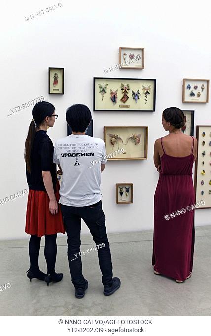 Artwork by Kawagoe Yurie at 21st Century Museum of Contemporary Art, Kanazawa, Japan